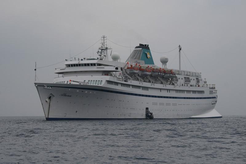 M/S ATHENA offshore Capri.