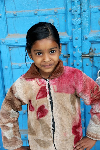One of our most memorable encounters was with this sparkling, lovely little girl named Priya!