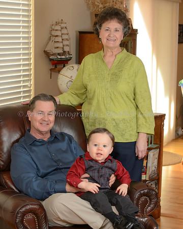 Gordon, Lois, and Family