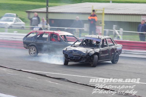 Bangers, Hednesford Hills Raceway, 15 October 2017