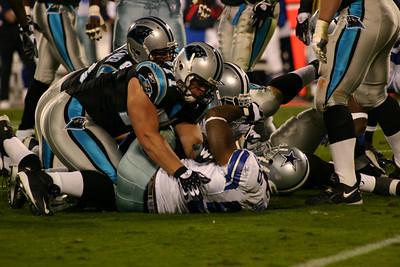 Dallas Cowboys at Carolina Panthers 10-29-06