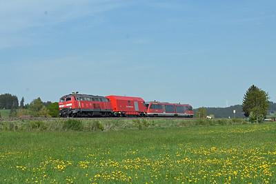 April in Bavaria