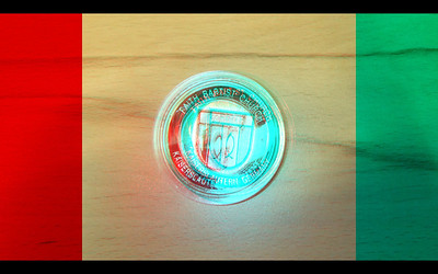 Fugi Objects in Anaglyph Stereo