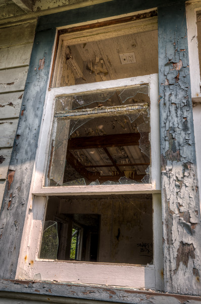 Abandoned House at Jordan River