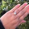 3.46ct Old European Cut Diamond GIA M, VS1 47