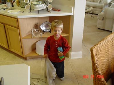 Thanksgiving at Melinda's 2004