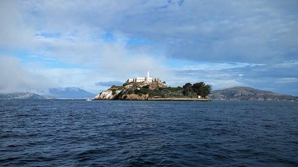Alcatraz Swim for Sight 2015