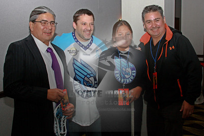 2/2/2013 - Rochester Knighthawks meet & greet with Tony Stewart (car racing driver) - Radisson Rochester Riverside Hotel, Rochester, NY