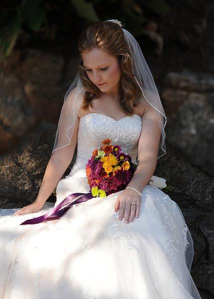 Bridal Portrait - Cleveland Park - Greenville SC