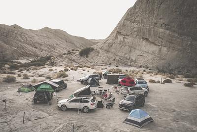10.24.2020 / Camping at Anza Borrego / Anza Borrego, California