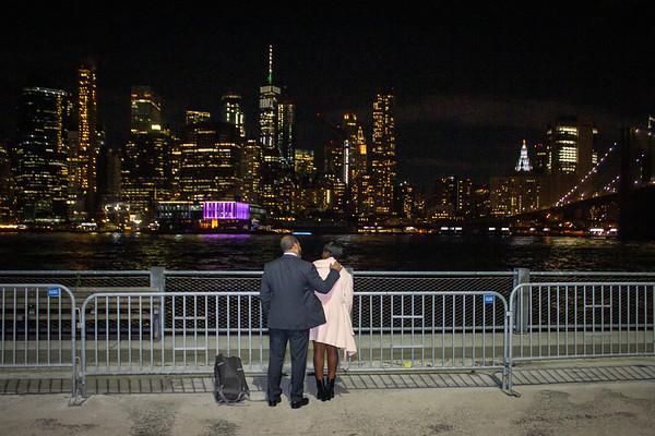 Corey Brooklyn Bridge Proposal, New York.
