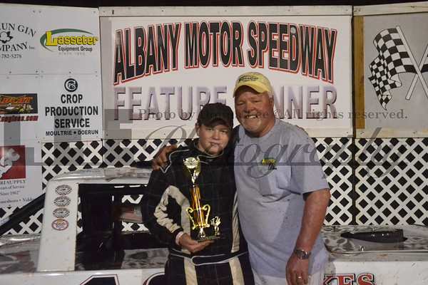 Jerry Summerlin at the Race tracks