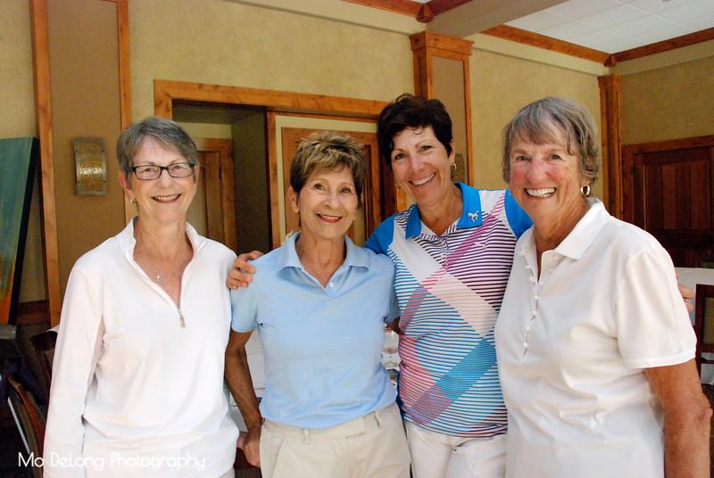 Susan Barclay, Carolyn Mierzwik, Debbie Culbertson and Pam Martin