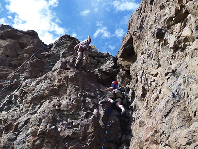 Learning to Climb at Vantage