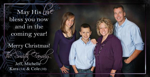 Christmas Card Slimline Samples