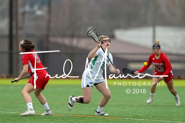 2/25/2018 YCP Women's Lacrosse vs Montclair St.