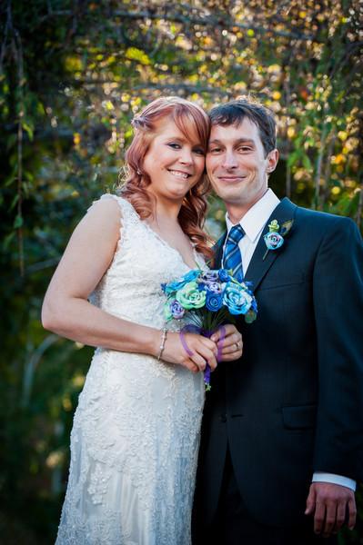 Chrissy & Craig's Garden Wedding