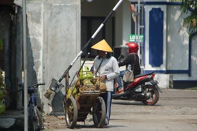 Onderweg en Yogyakarta
