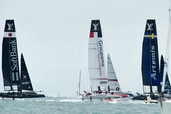 THE LOUIS VUITTON AMERICA'S CUP WORLD SERIES