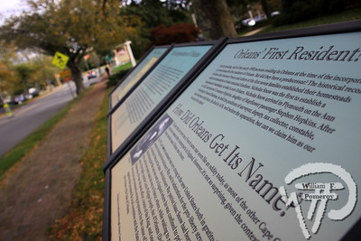 ORLEANS HISTORIC MARKERS COMMITTEE — landmarks — Orleans, MA 10 . 25 - 2016