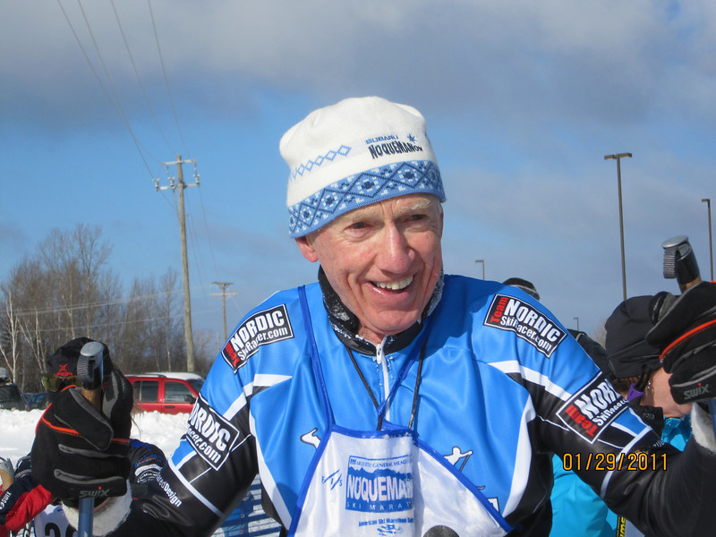 Bill Haefner NSR, 2nd place in age group 51K Classic race. Way to go Bill.