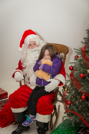 Photos with Santa 2014-12-04