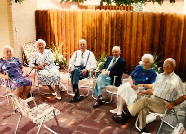 Papa Frank's 75th Birthday Party - 1989
