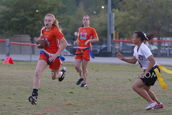 Boone Varsity Flag Football - 2011 #4