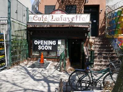 Cafe Lafayette (HOT SPOT)