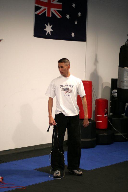 May 2005 Black Belt Test