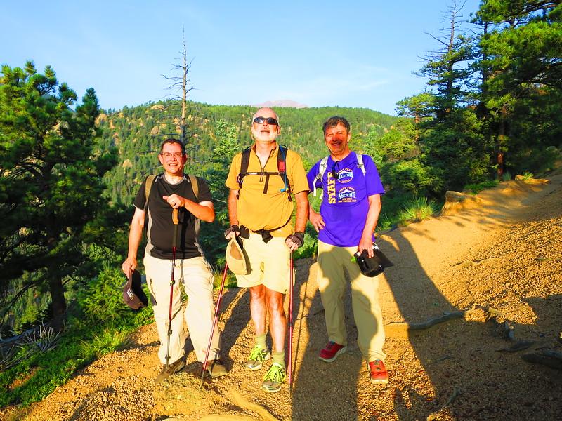 L-R: Chuck, Andrew & David.