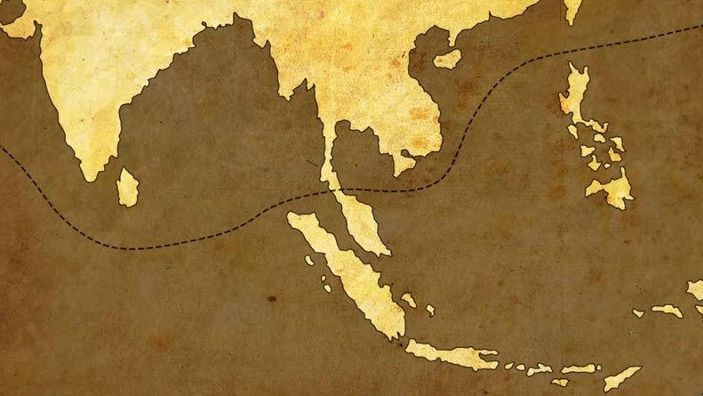 Kra Canal Map
