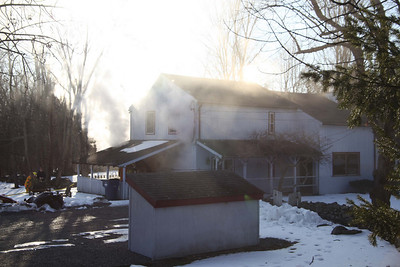 West Clinton Hollow Road House Fire - January 4, 2011