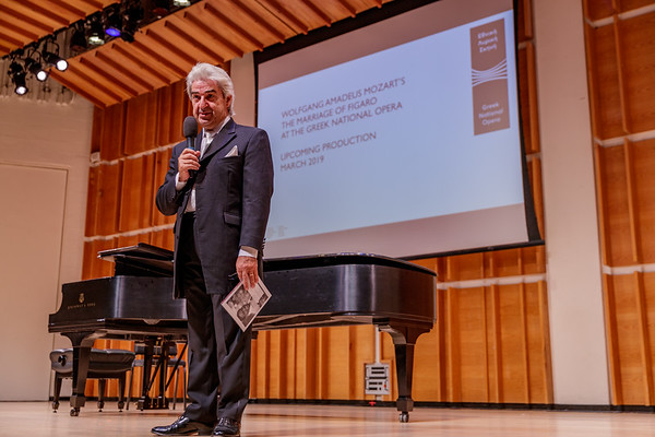 Oct 30, 2018 Renowned Conductor and Pianist Marios Papadopoulos in Concert