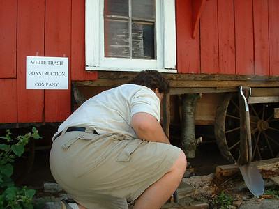 Barn Repairs, Aug 07