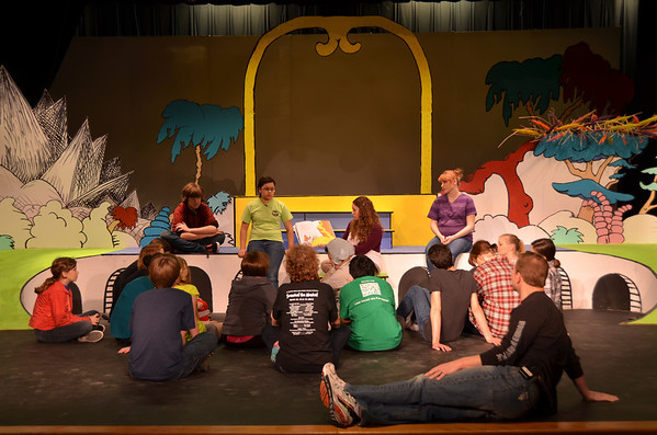 Seussical the Musical - Offstage & Behind the Scenes