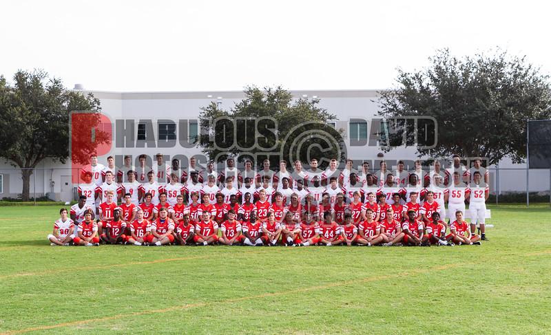 Varsity Football Team Images - 2017