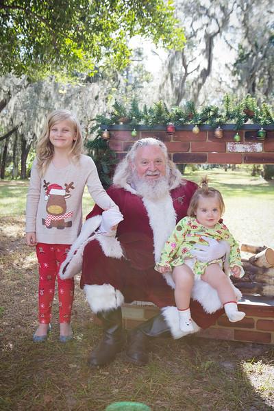 Santa Minis 2018: Marley and Penelope!