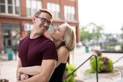 Stephanie and Aaron