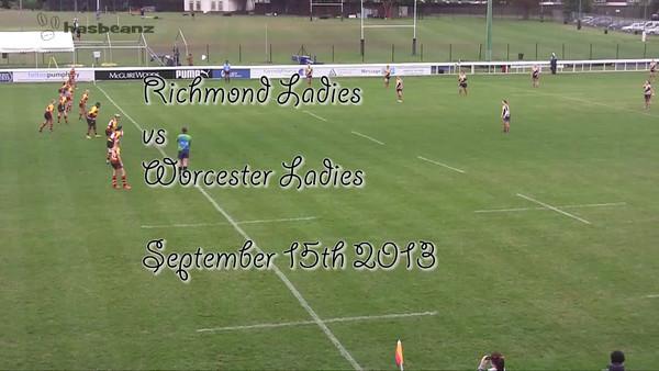 Worcester Ladies Rugby 2013-2014