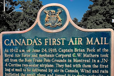Canada's Air Mail Centenary