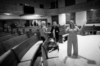 Taylor and John Roy's Rehearsal