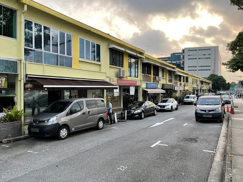 Parking along Upper Changi Road