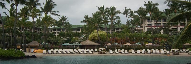 One of Hyatt's many swimming areas