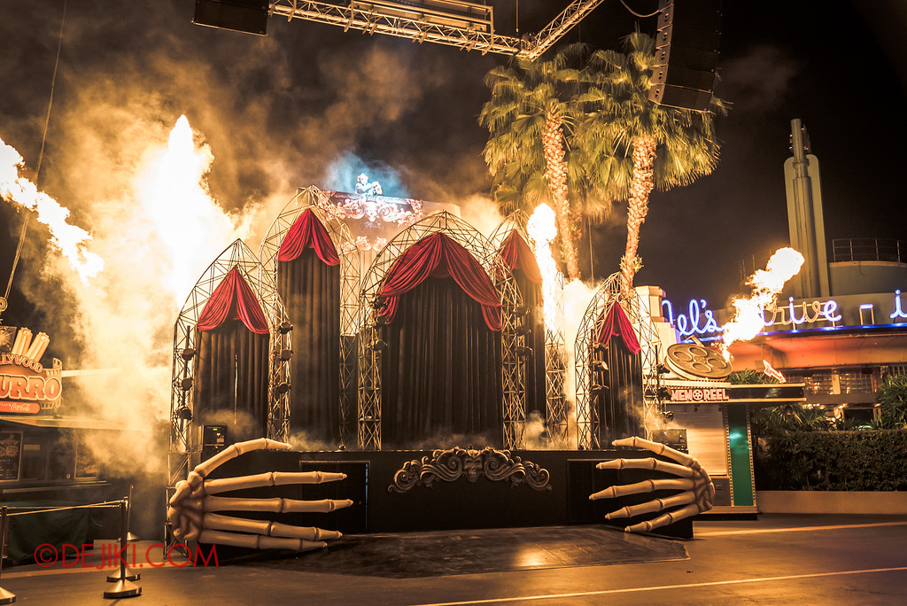 Halloween Horror Nights 6 - Opening Scaremony / Fires and Explosions