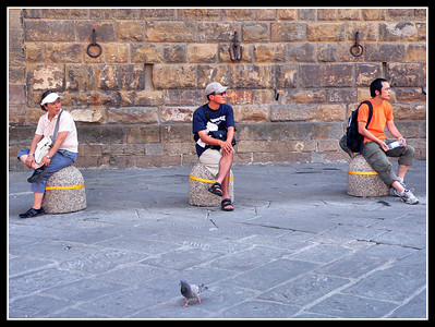 Florence: Tourists
