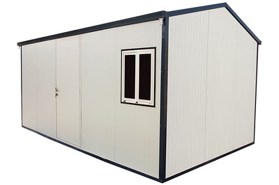 Gable Roof Insulated Building 16x10