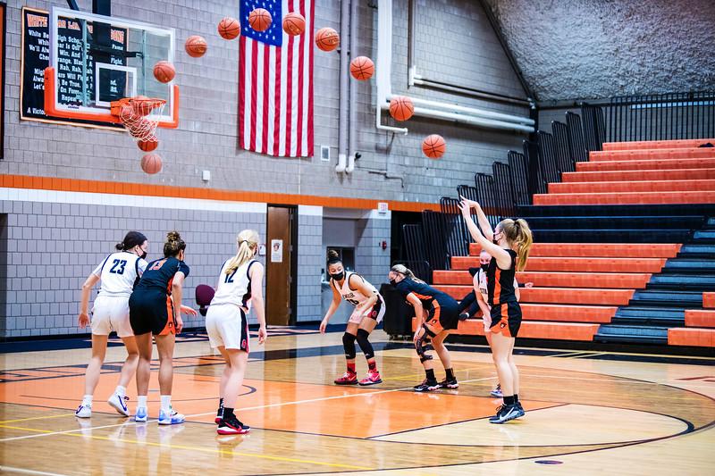 WBL Girls Varsity Basketball -v- Stillwater 2021