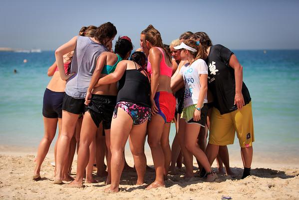 2014 Dubai Beach try-outs