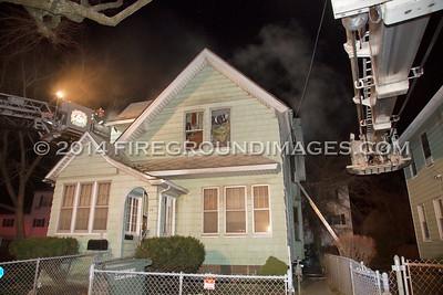 4th St. Fire (Bridgeport, CT) 12/19/14